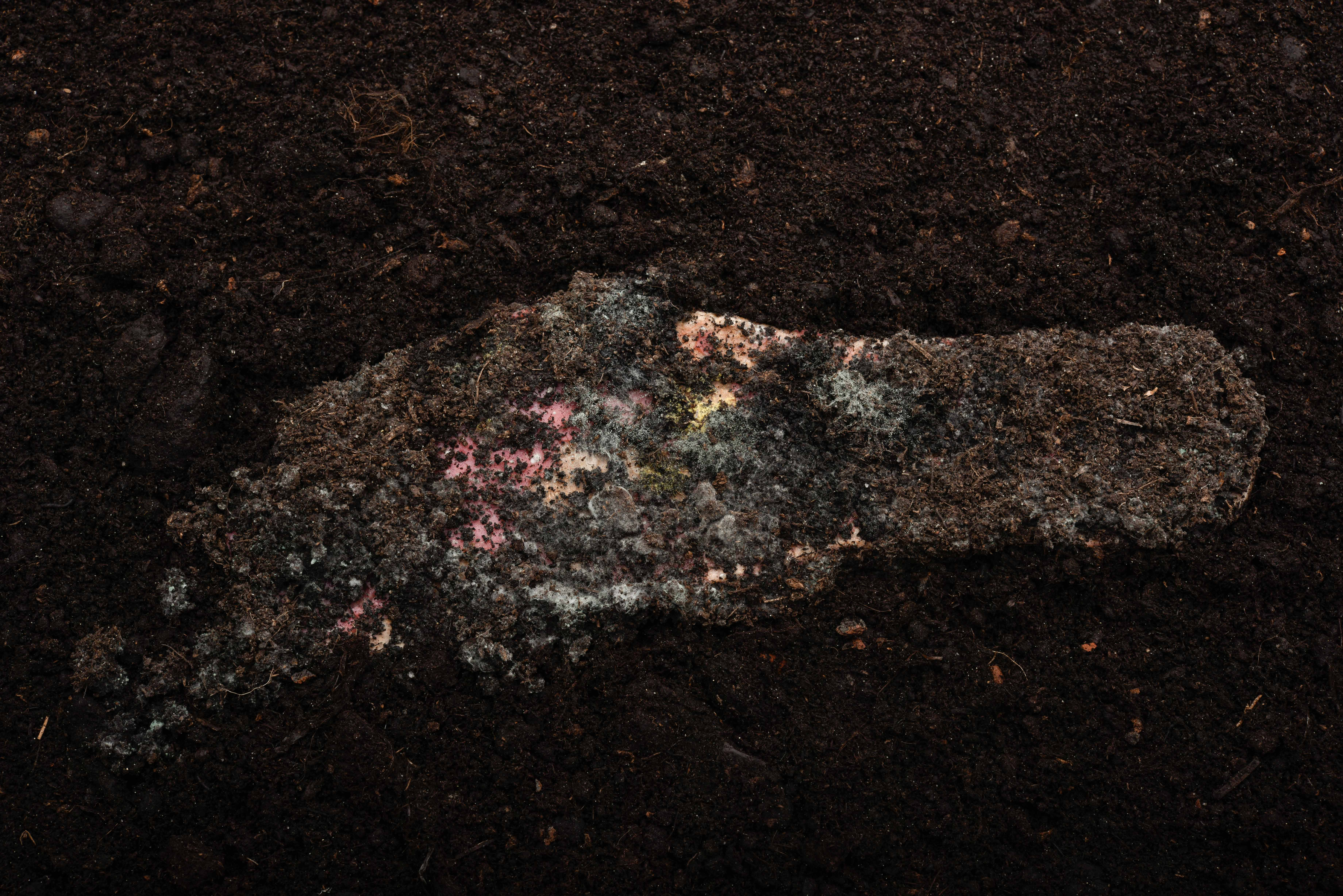 Halb-kompostierte Sandale